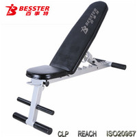JS-007CA gym equipment bench hot-selling training .bench home gym fitness equipment as seen on TV adjustable bench