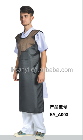 X Ray Pritection for personnel lead apron sleeveless coat apron