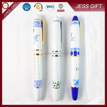 High quality Blue and white porcelain gel pen gift pen for business gift