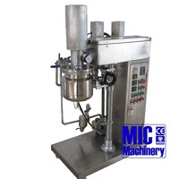 MIC E10 Stainless 10 Liter Small Volume Vacuum Mixer Homogenizer