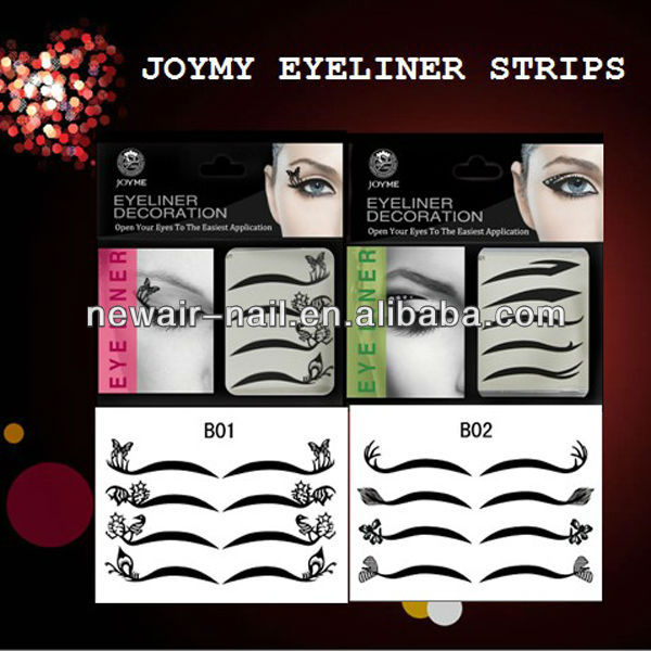 Jewel eyeliner strips & Eyeshadow strips