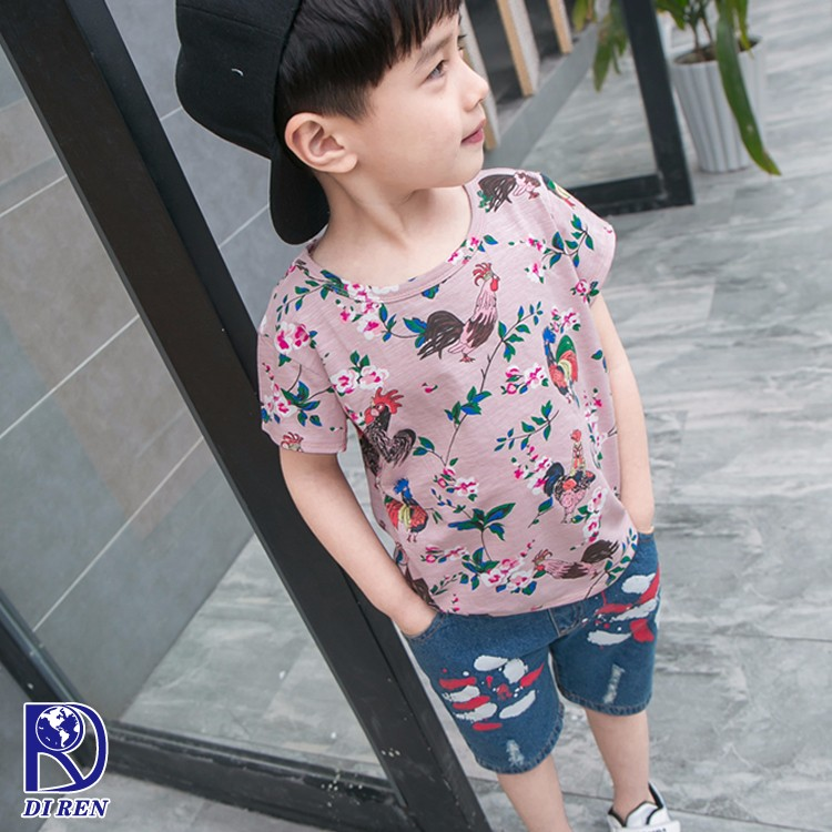 2017 Attractive cheap baby t-shirt printing