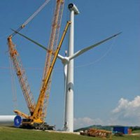 New and used wind turbines