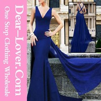 hot classy Royal blue Hot Quality Wholesale Sexy Women mermaid wedding dress