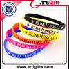 pretty and colorful promotional fashion bright color silicone bands
