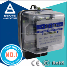 DD28 type single-phase electrical active watt hour install electric meter price
