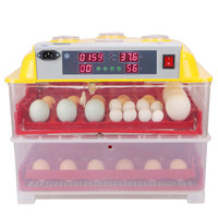 72 chicken egg hatching machine fully automatic incubator for eggs price WQ-72