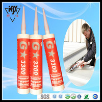 Free samples quick dry strong adhesion acetoxy general purpose sealant silicone
