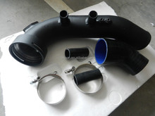 N54 charge pipe for BMW 135i 335i powder paint black