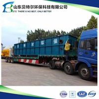 DAF Dissolved Air Flotation Machine, with automatic dosing and flocculation system