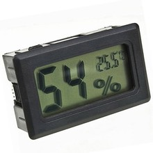 Factory Price LCD Embedded Hygrometer Thermometer Digital with External Probe