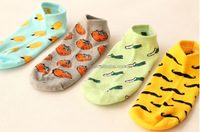 FRUIT & VEGITABLE socks , customized socks