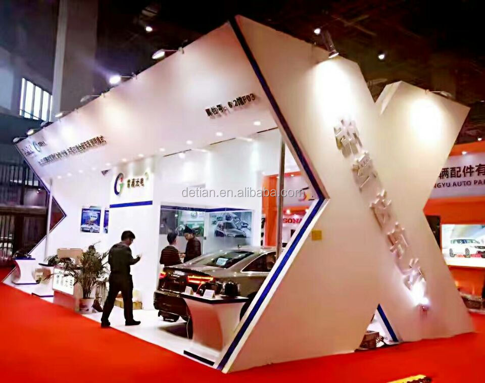 Shanghai factory rent trade show booth, exhibition booth equipment rental in China