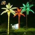 3-6M height outdoor christmas decoration led palm tree light