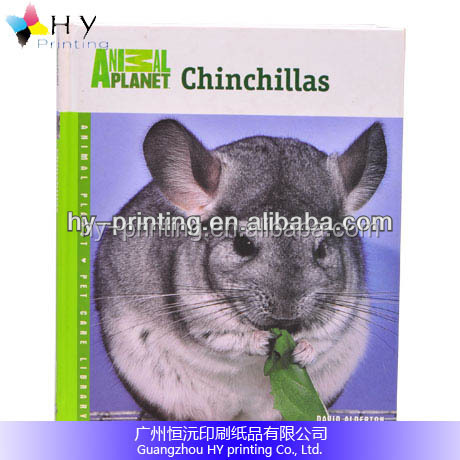 Hotsale Full Colour Printing Casebound Pets Book