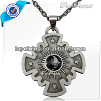 Black Stone Crystal Religious Necklace Jewelry Pendants