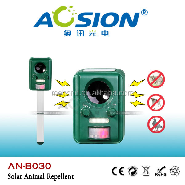 Aosion Solar Ultrasonic wild monkey repeller