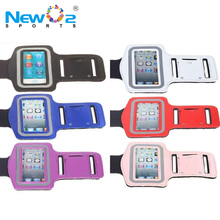 Unisex Multi-colors Touch Screen Neoprene Night Reflective Gym Fitness Running Armband Case with Key Holder for iPod Nano 7 8