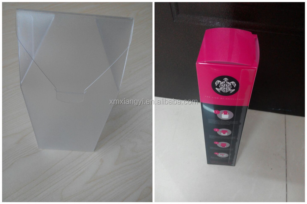 transparent PVC box, PET, PP Clear plastic box for chocolate