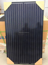 Black frame and black back sheet 250watt 30v mono solar panel