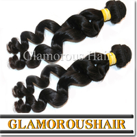 2016 Free sample product to test hot selling 3 bundles loose body wave hair weaving