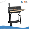 Garden Trolley Charcoal Large Barrel bbq Teppanyaki Grill