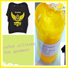 screen print silicone based pigment ink, textile chemicals materials for T-shirt printing