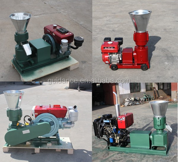 Animal Feed Pigeon Fodder Small Feed Wood Pelletizer Machine At Home