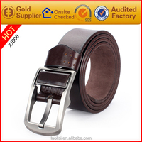 Men classic leather belt hz