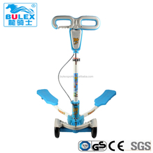 High quality 4 wheels frog kick toddler scooters for sale