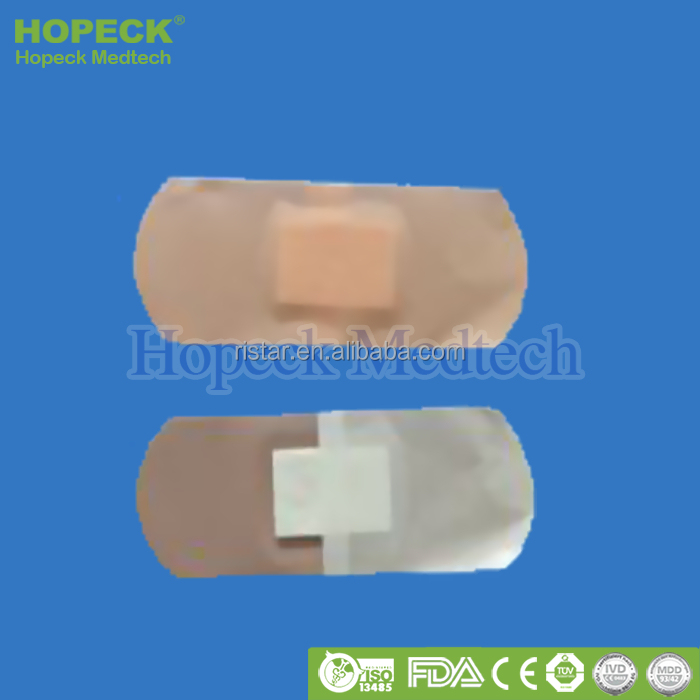 Fabric /PE / PEVA / PVC Comfort Great Sticking Power And Sterile Medical Wound Dressing, Dry Skin Thoroughly