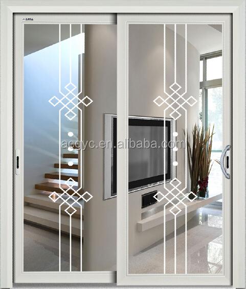 Esterno Commerciale Porta Di Vetro Alluminio Francese Porte Esterne Alluminio Porte