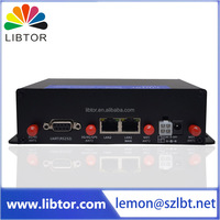 High speed WIFI Vehicle GSM 4g fdd wireless industrial lte router with USB port and RJ232 connector