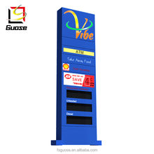 Manufacturer production gas station price sign board