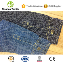 Light Weight Thin 100% Cotton Textile Fabric Printing Denim Fabric