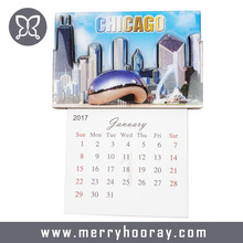 Monthly Souvenir Calendar Fridge Magnets