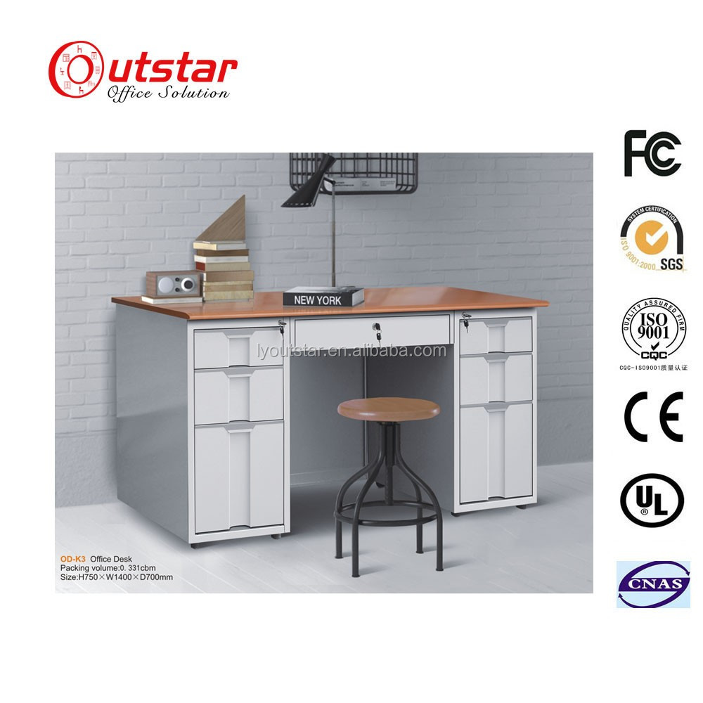 Factory Price Metal Office Table/School Office Metal Table Reading Desk for Sale