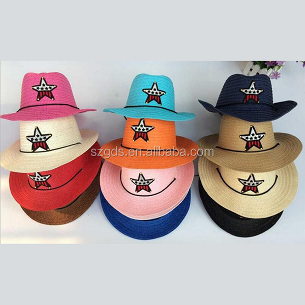 Hot Dozen Straw Cowboy Hats for Kids Great Birthday Party Hats for Boys and Girls bulk straw cowboy hats