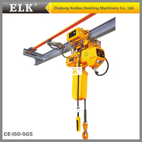 1T crane hoisting machinery used for beam