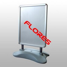 wind resistant A1 aluminum high quality water base sign holder