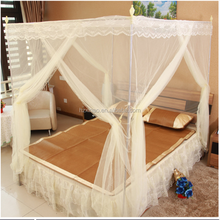 cheap types of mosquito nets stainless steel stent mosquito net square bed curtain