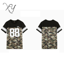 2018 wholesale camo t shirts cotton pant shirt new style high quality mens street wear clothing