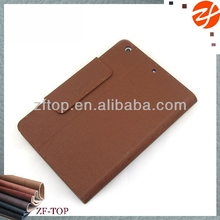 businessman Wallet folio notebook leather case for ipad mini 2