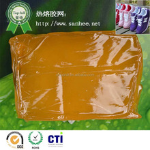 EVA hot melt adhesive block,high quality glue for shoes making