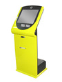 Yulian Fashion-design Self-service Ticket Kiosk with Printer/Interactive Information Touch Kiosk/Bank Queueing Machine