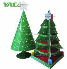 Decorative Christmas Tree Stands,Corrugated Cardboard Pallet Display