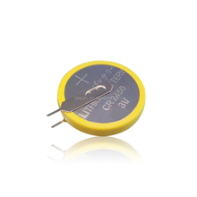 Button cell 3V CR2450 Battery with solder tabs/pins/legs for Vending Machine