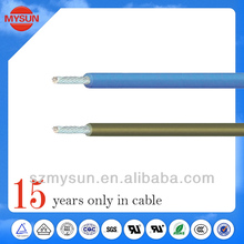 High flexible silicone coated 12 gauge stranded wire