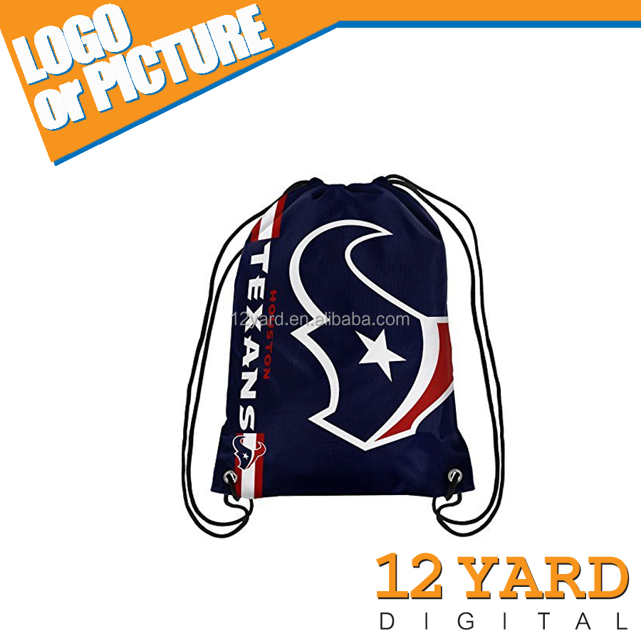 New fashion high quality shopping bag and strong sport drawstring backpack&waterproof softback
