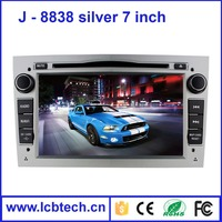 Black Color Android 4.4 7 Inch 2 Din In-dash Car DVD Player GPS navigation with HD touch screen radio 8838 tuner